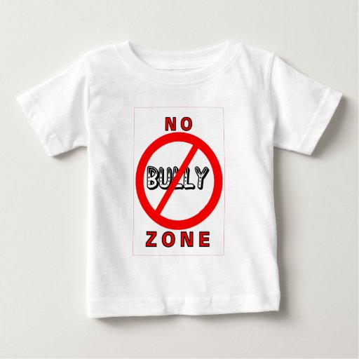 No Bully Zone Baby T-Shirt