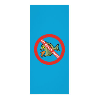 No Bully Zone Card