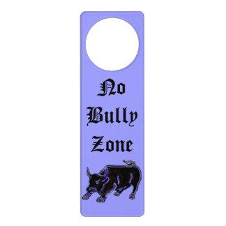 No Bully Zone Door Hanger