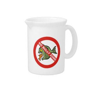 No Bully Zone Drink Pitcher