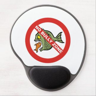 No Bully Zone Gel Mouse Pad