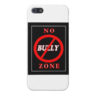 NO Bully Zone Cover For iPhone 5