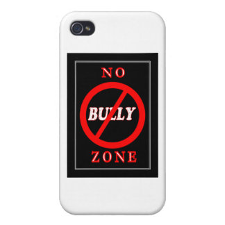 NO Bully Zone Covers For iPhone 4