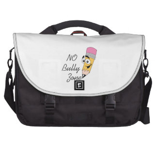 NO BULLY ZONE LAPTOP COMPUTER BAG