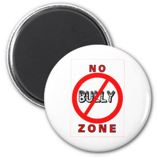 No Bully Zone Magnet