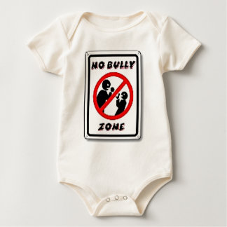 No Bully Zone Personalize for your school home Bodysuit