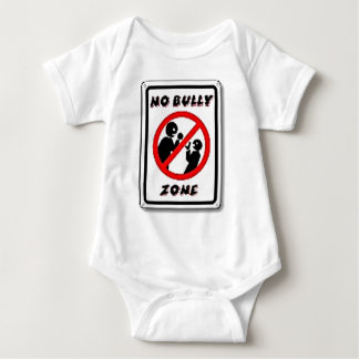 No Bully Zone Personalize for your school home Infant Creeper