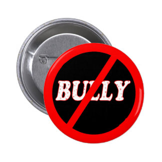 No Bully Zone Pinback Button