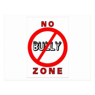 No Bully Zone Postcard