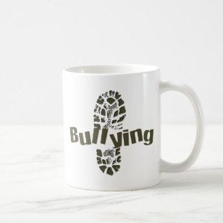 NO bullying Boot Print Coffee Mug