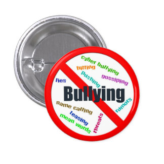 No Bullying Button