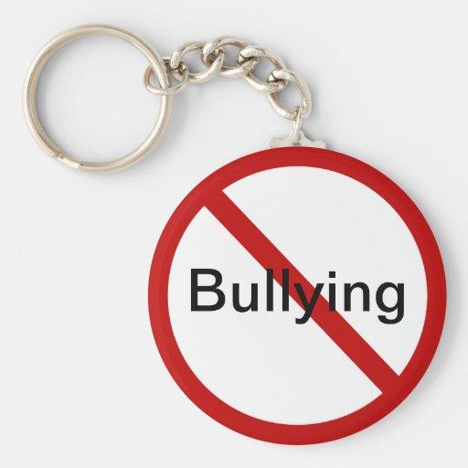 No Bullying Keychains