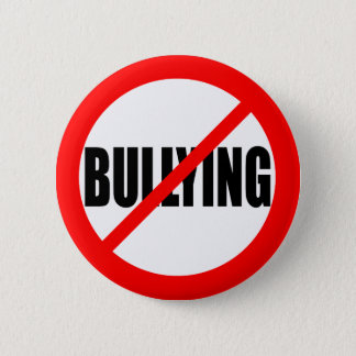 """NO BULLYING"" PINBACK BUTTON"