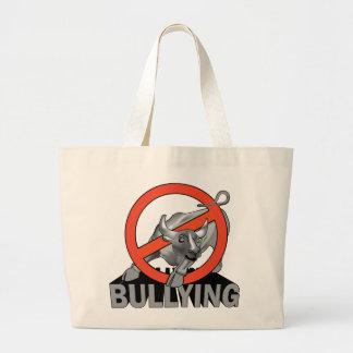 no bullying tote tote bags