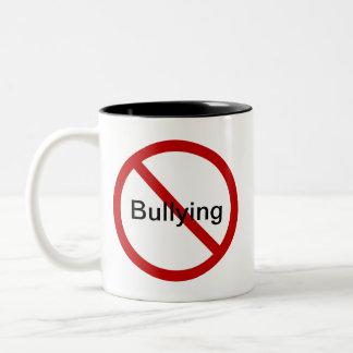 No Bullying Two-Tone Coffee Mug