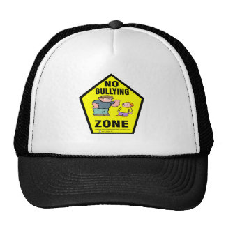 no bullying zone.png trucker hat