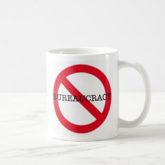 No Bureaucracy mug