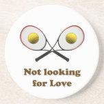 No buscar tenis del amor posavasos para bebidas