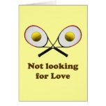 No buscar tenis del amor tarjeta pequeña