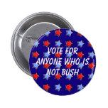 No Bush Pins