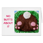 NO BUTTS ABOUT IT-EASTER WISH IS HUGE CARD