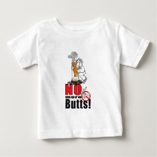 NO BUTTS - Stop Smoking Baby T-Shirt