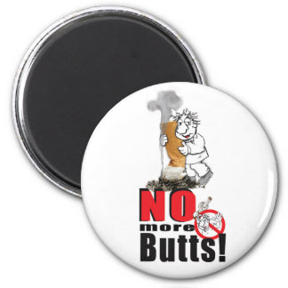 NO BUTTS - Stop Smoking Magnet