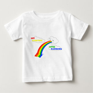 No cada uno ama diseño de los arco iris poleras