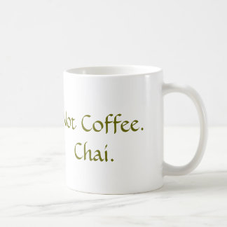 No café: Chai Taza Clásica