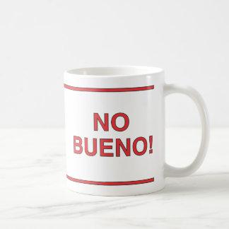 No Cafe? No Bueno! Classic White Coffee Mug