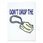 No caiga el jabón invitacion personalizada