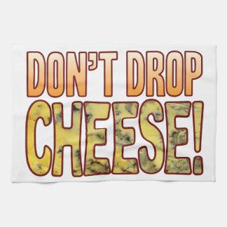 No caiga el queso verde toalla de cocina