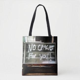 No Cake for You!  Abandoned Olga's Diner Totebag Tote Bag