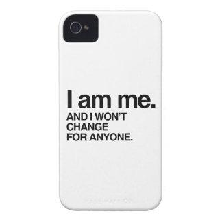NO CAMBIARÉ PARA CUALQUIER PERSONA iPhone 4 Case-Mate PROTECTOR