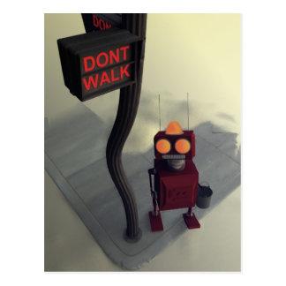 No camina la postal