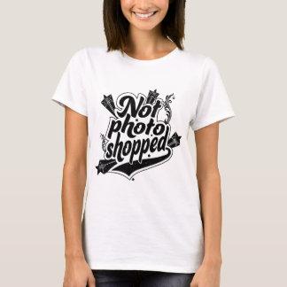 No camiseta de Photoshopped
