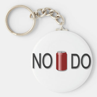 No Can Do! Keychain