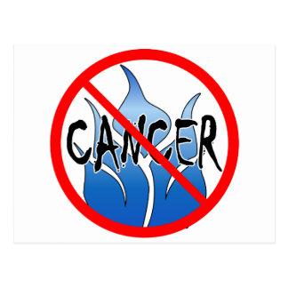 No Cancer Design Post Card