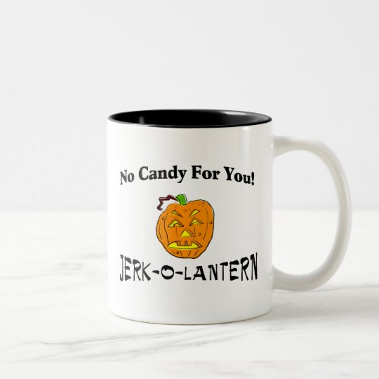 No Candy For You Two-Tone Coffee Mug