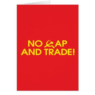 No Cap And Trade! Card