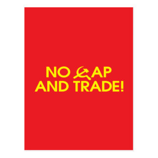 No Cap And Trade! Postcard