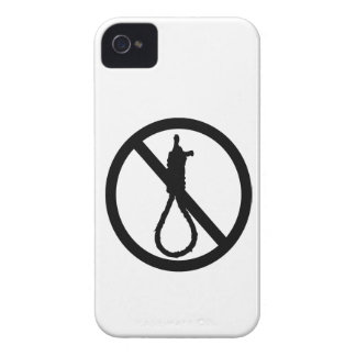 No Capital Punishment Sign Case-Mate iPhone 4 Cases