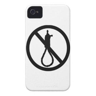 No Capital Punishment Sign iPhone 4 Case