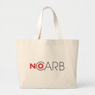 No Carb 7 Jumbo Tote Bag