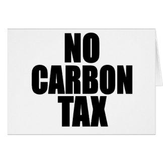 No Carbon Tax Card