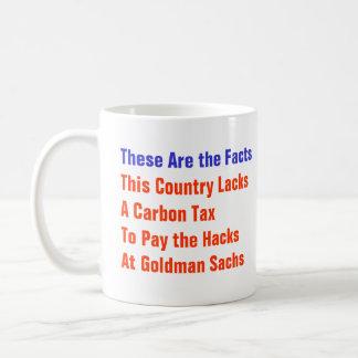 No Carbon Tax Coffee Mug
