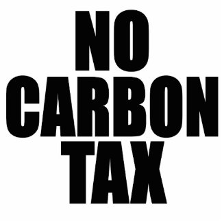 No Carbon Tax Cutout
