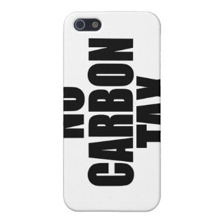 No Carbon Tax iPhone 5 Covers