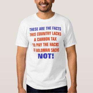 No Carbon Tax T-Shirt