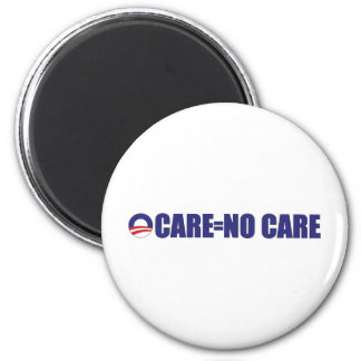 No Care Long 2 Inch Round Magnet